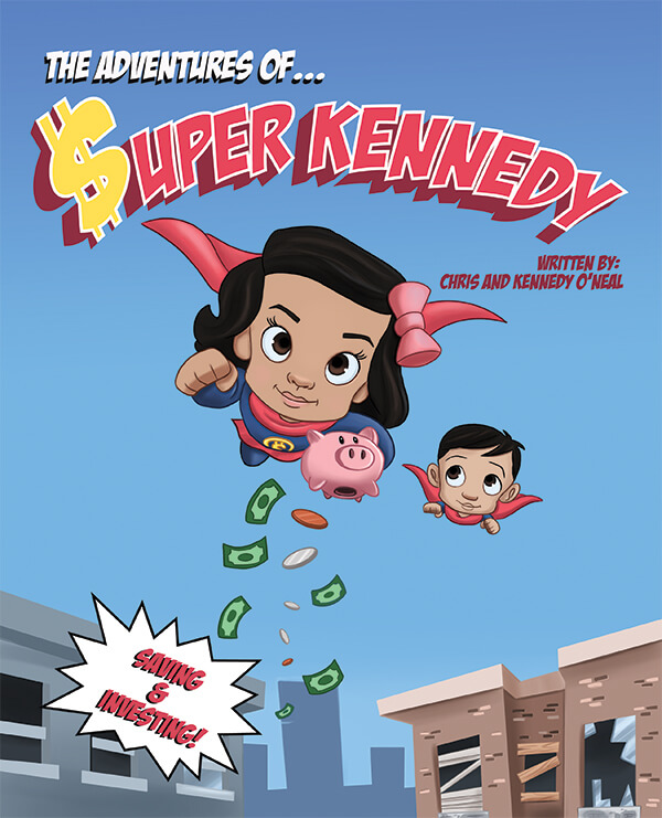The Adventures Of Super Kennedy book cover